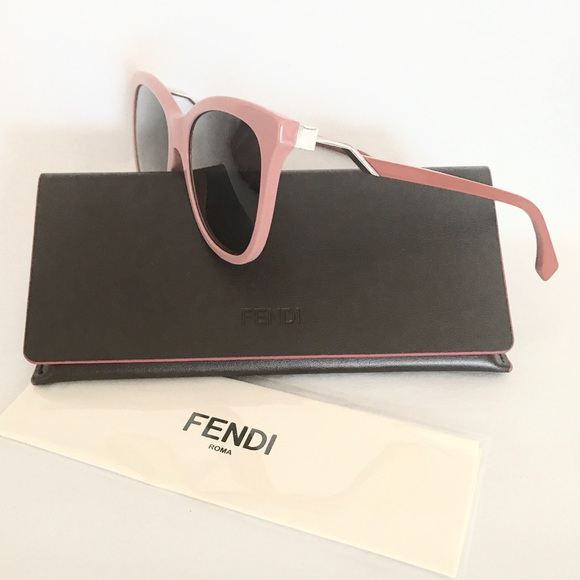 1889bf9639f Authentic Fendi cat eye wayfarer zigzag sunglasses